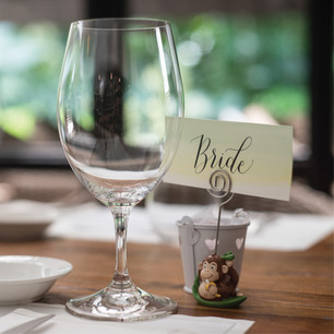 Customised Calligraphy Place Cards