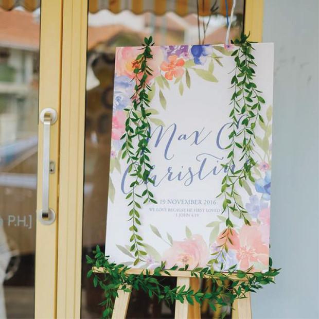 Wedding Welcome Signage