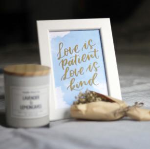 Customised Wedding Decor Frames