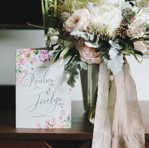 Intimate Wedding Programme