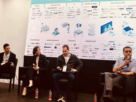 Yonatan Beck, Partner at GiTV has participated in a panel as part of the first Frontier Tech event i
