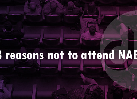 3 reasons not to attend NAB