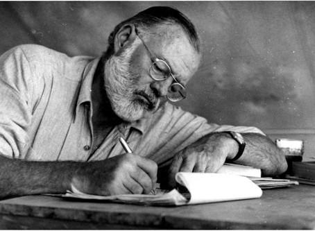 Dez regras básicas para ser um bom escritor, segundo Hemingway!