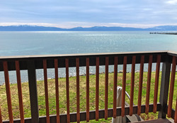 Lakefront Balcony