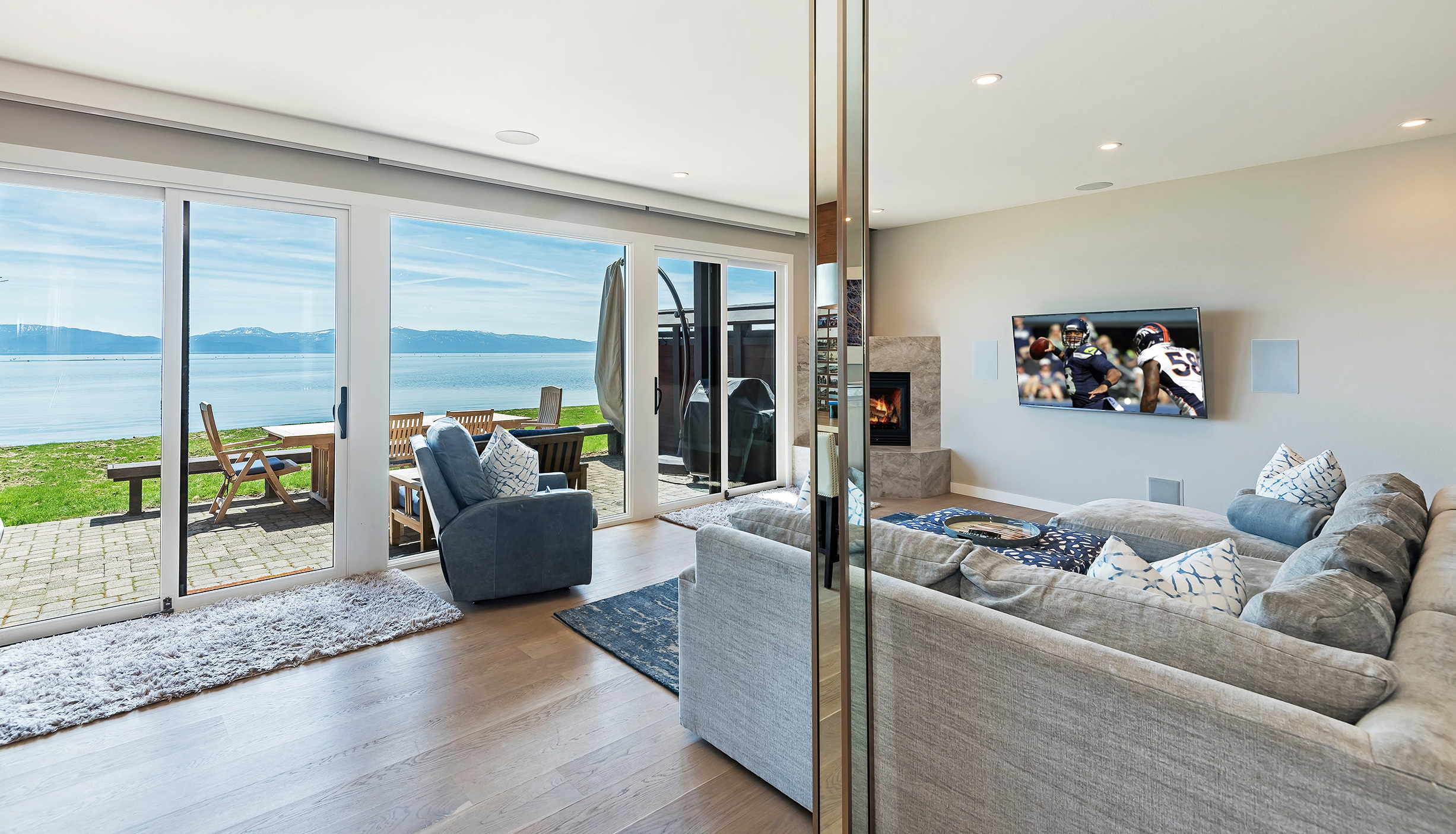 Lakefront Family Room