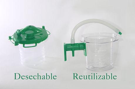 Aspirare VISTA desechable y reutilizable