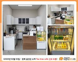 Tea tree cafe 신규 오픈