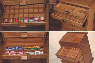 Standard + bespoke drawer storage inserts