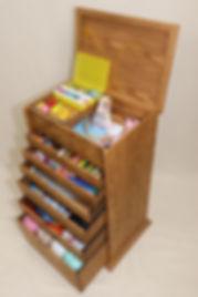 Cross stitching Basic 6 drawer craft storage box