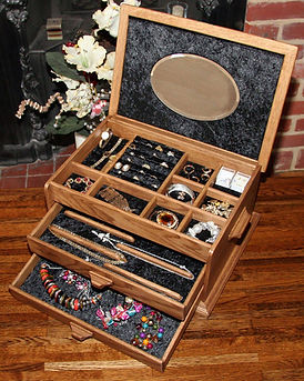 Bespoke Wooden Jewellery box