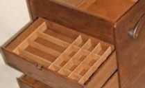 bespoke drawer partitions made to your requirements.