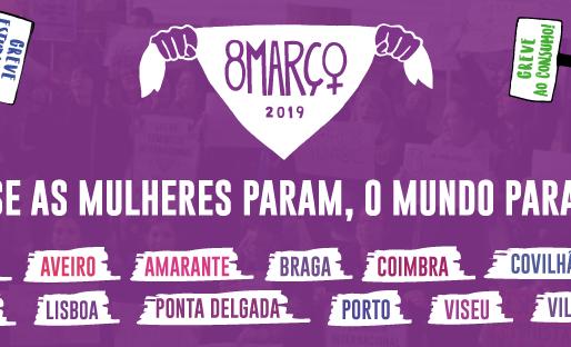 O NESISCTE apoia a greve feminista de 8 de março de 2019