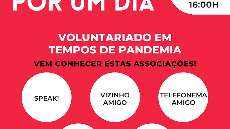 Voluntário por um dia