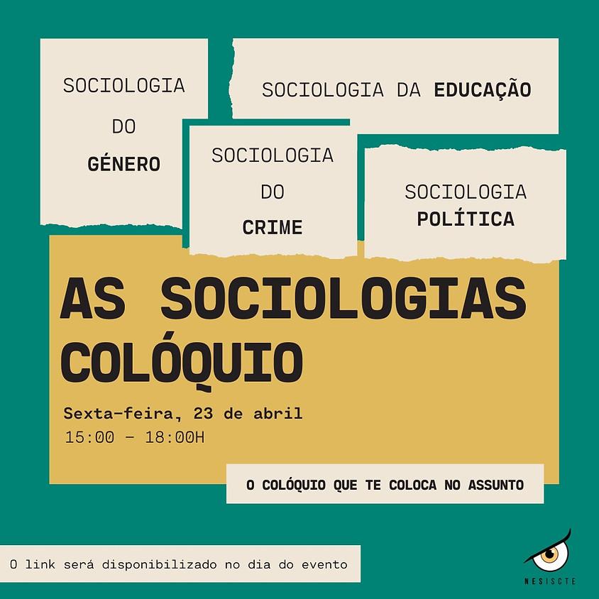 As Sociologias - Colóquio