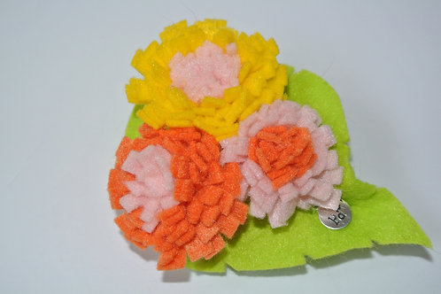 Tri Colour Bouquet Yellow