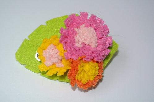 Tri Colour Bouquet Pink