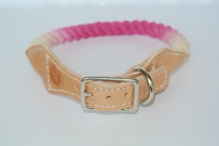 Pink Lemonade and Light Brown Leather L