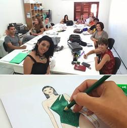 Professora de Desenho