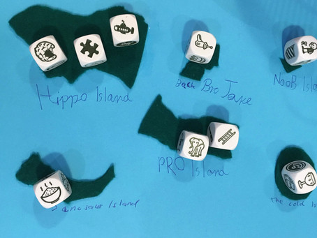 Design your own role play board game in English