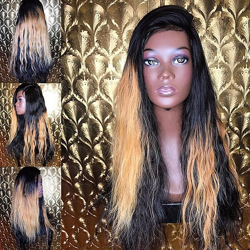 Custom made  with blonde Ombre
