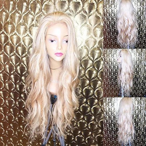 Blonde Wavy