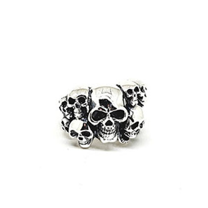 Multiple Skull Ring