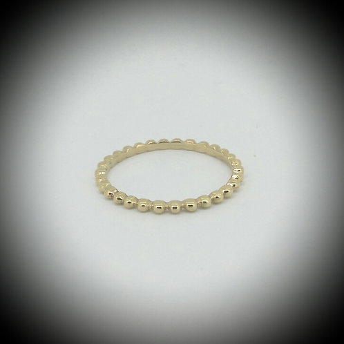 Petite Bauble Yellow Gold Ring