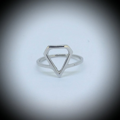 Aether Diamond Shape  Ring