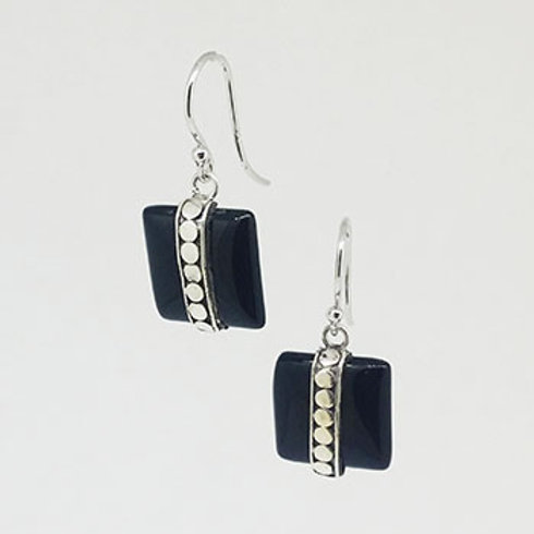 Chequers Drop Earrings