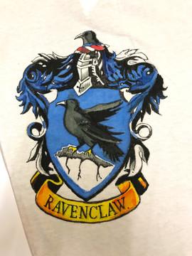 Wizarding T-shirt detail!