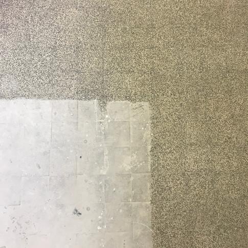 Renovating the floor. 54+ hours of work! Den Fussboden renovieren. 54+ Stunden!