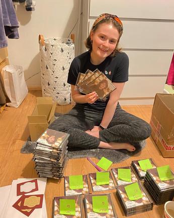Organising Christmas CD Orders