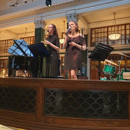 Performing at The Ned - 5* Hotel and Private Members' Club