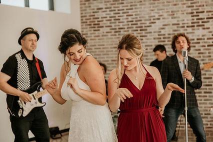 Bride, Bridesmaids, Wedding, Dancing, Makeup, Cambridge