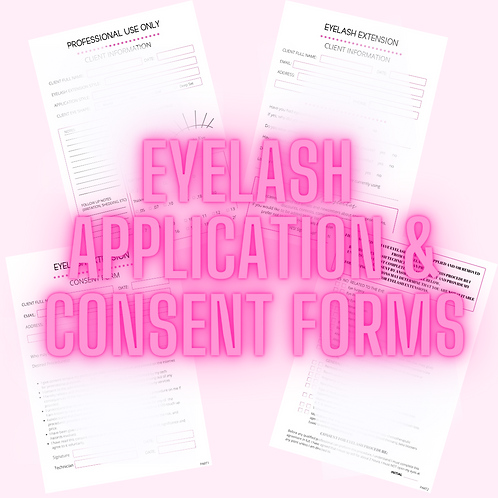 Application & Consent Forms