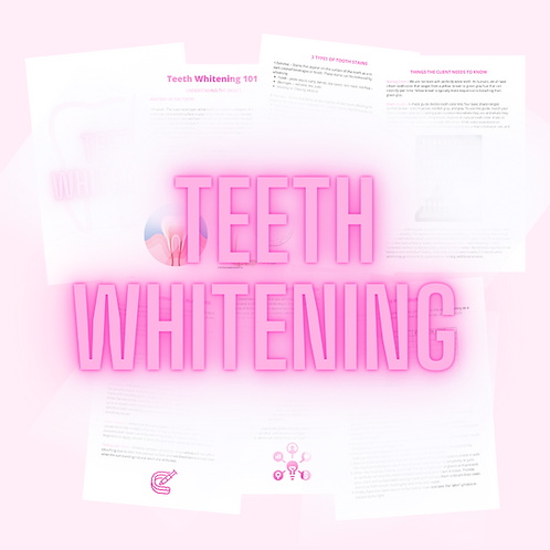 Teeth Whitening Pamphlet