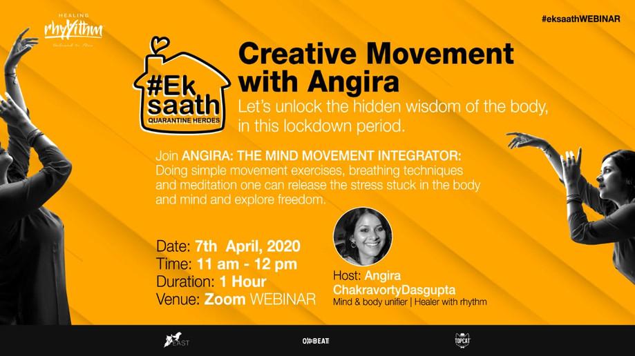 Creative movement for eksathwebinar
