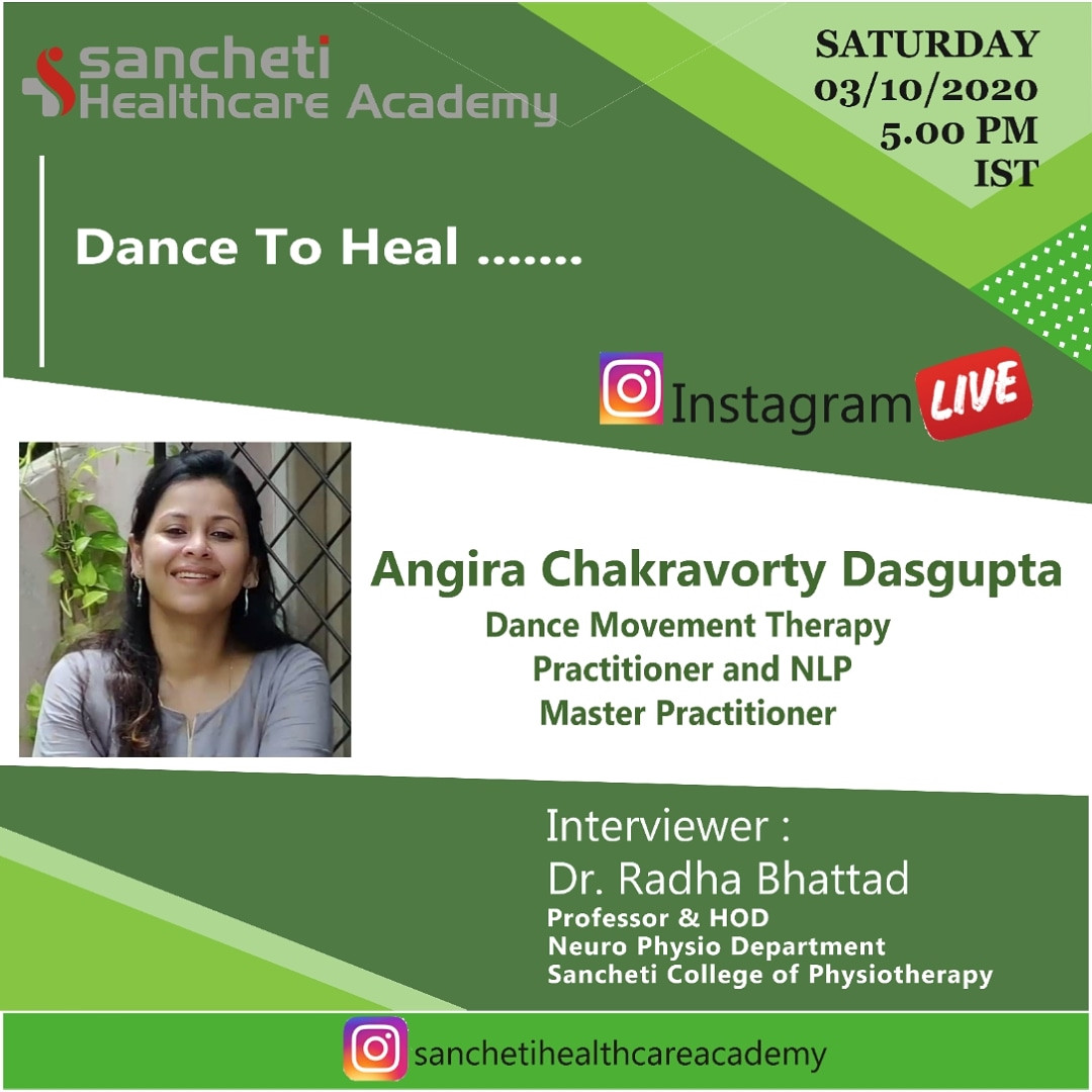 UPCOMING!!!!  With Sancheti healthcare academy