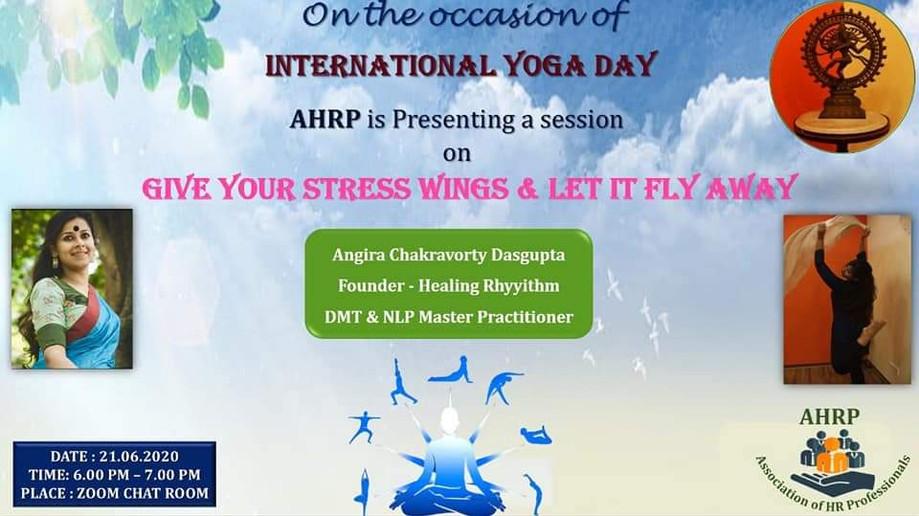 Stress release workshop for AHRP