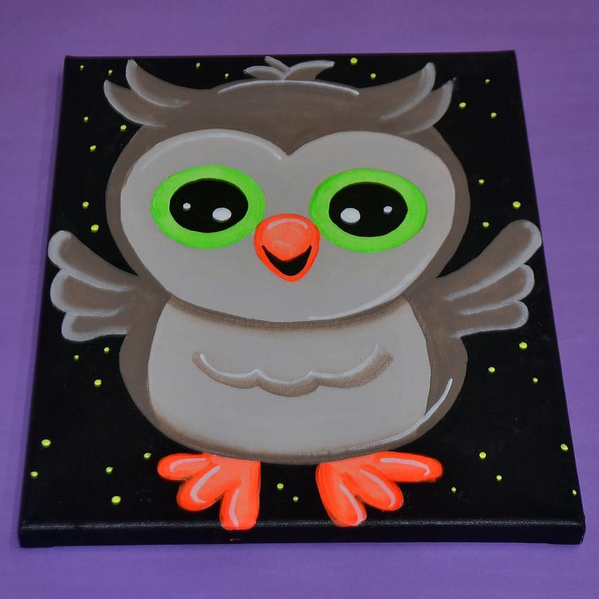 Ollie Owl- BLACKLIGHT CLASS!