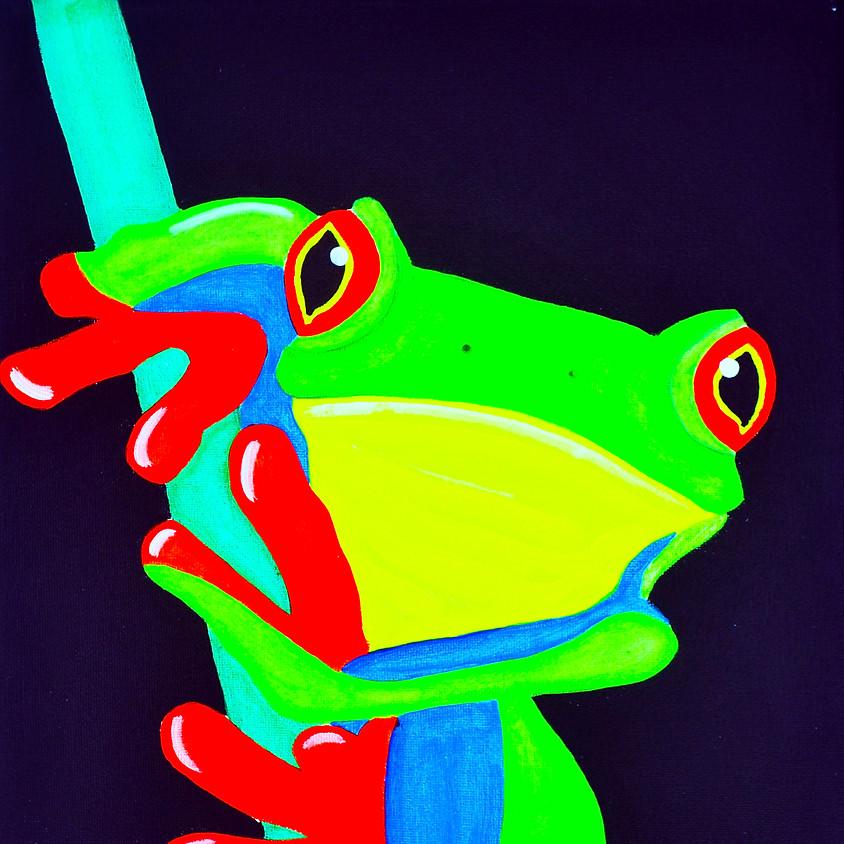 Kermit's Kousin- Blacklight Class!