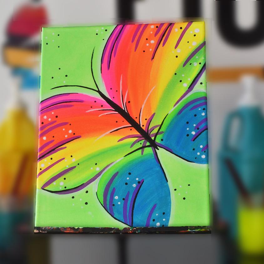 BLACKLIGHT CLASS: Beautiful Butterfly
