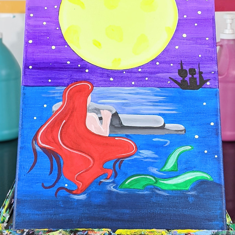BLACKLIGHT CLASS: Moonlit Mermaid