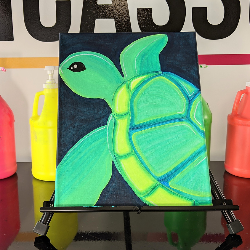 BLACKLIGHT CLASS: Shellie the Turtle