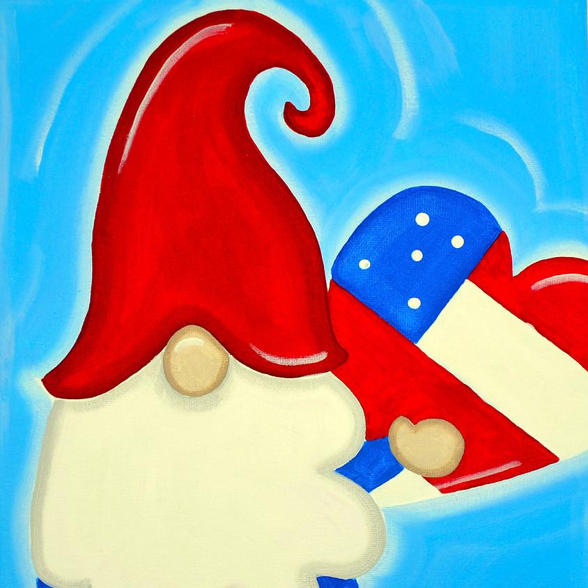 Patriotic Gnome- FREE CLASS!!
