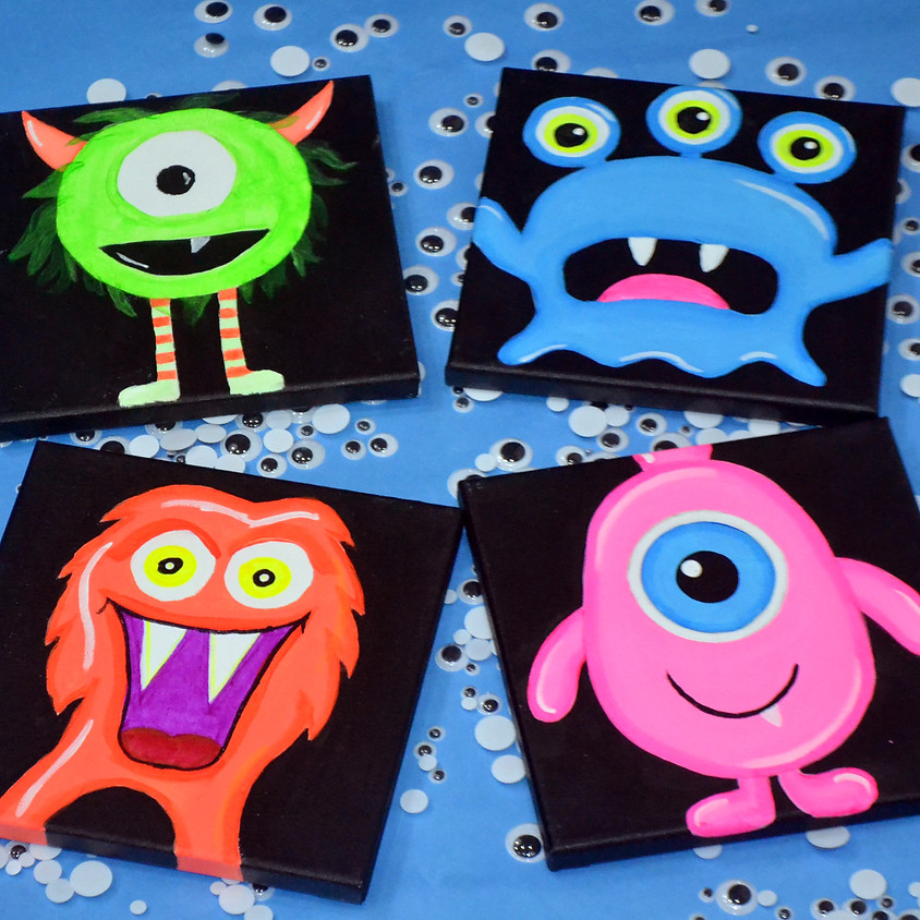Monster Family Night- BLACKLIGHT CLASS!