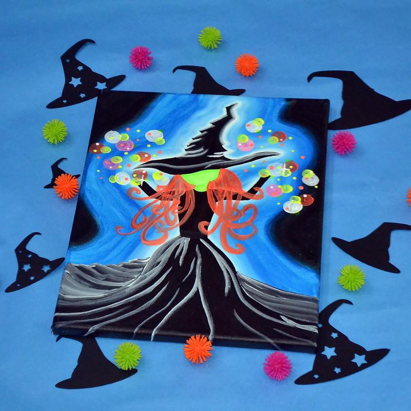 Wicked Blacklight Witch- BLACKLIGHT CLASS!
