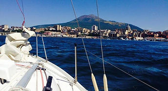 Bike tour in Boat&Bike in boat at sail, by irentbike.com