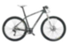 Bicicletta Mtb Bianchi utilizzata per il bike tour La scalata del mitico Vesuvio, con irentbike.it