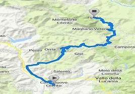 bike tour percorso calstelnuovo a felitt